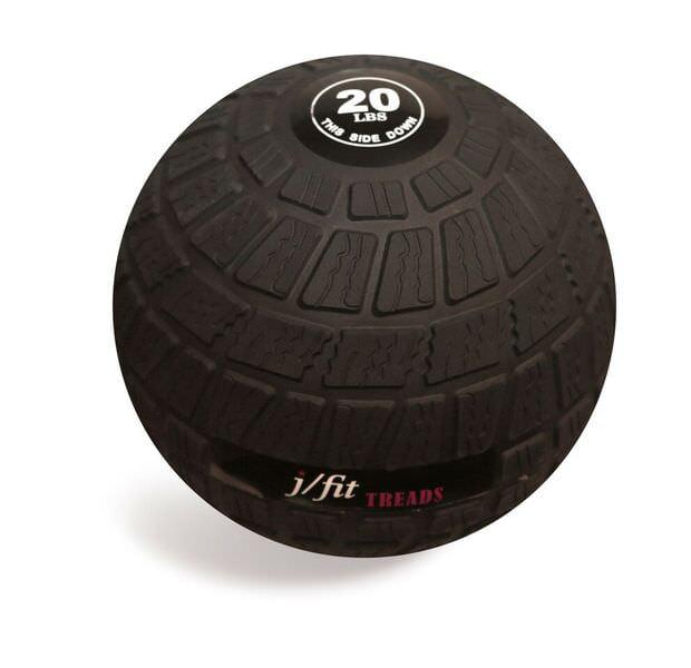 j/fit Dead Weight Treads Slam Ball - 20lb