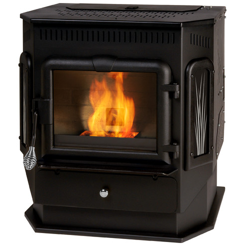 ENGLAND'S STOVE Works 2,200 sq. ft. Direct Vent Pellet Stove