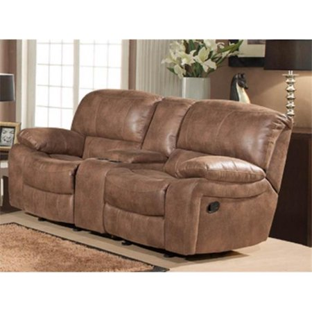 Snuggle up dual rocking reclining loveseat with console Rocking loveseats