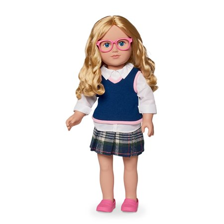 My Life As 18-inch Schoolgirl Doll, Blonde - Schoolgirl Outfit Pics