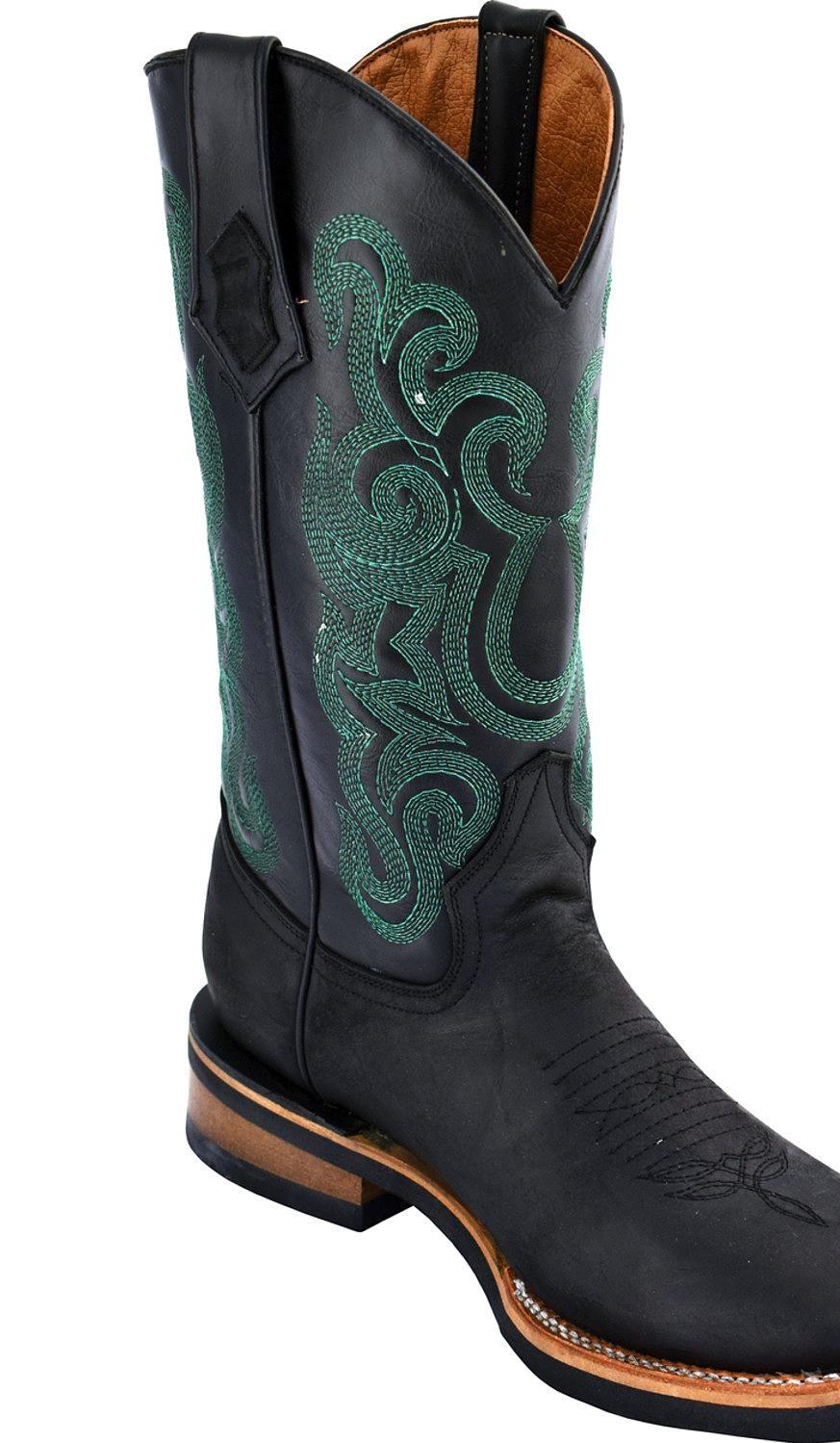 Ferrini Men's Maverick Cowboy Boot Square Toe 15093-04 by Ferrini