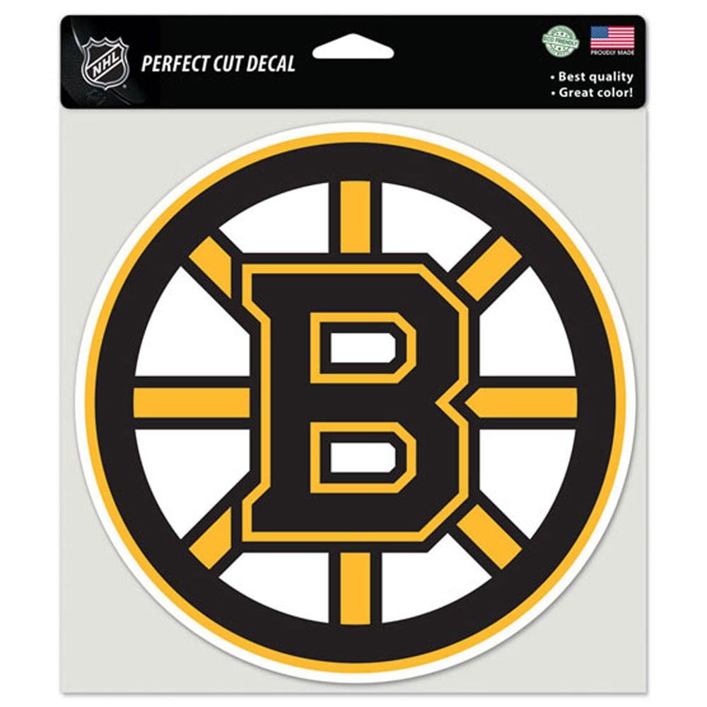 """Boston Bruins Die-cut Decal - 8""""x8"""" Color"""