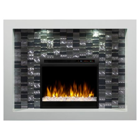 Dimplex Crystal Mantel Electric Fireplace with XHD Series Firebox Dimplex Corner Electric Fireplace