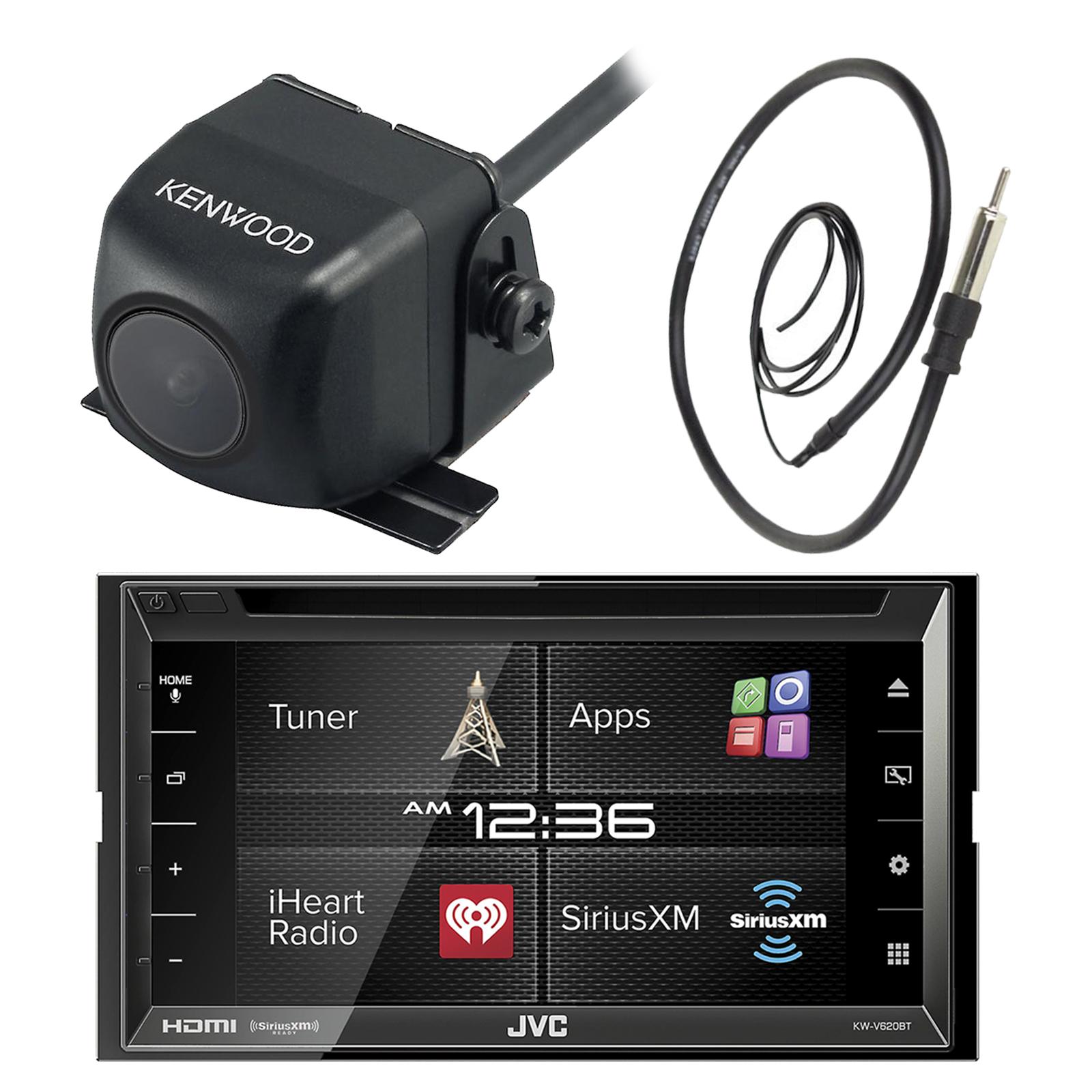 "JVC KW-V620BT 6.8"" Inch Double DIN Touch Screen Car CD DV..."