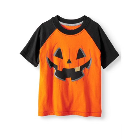 Short Sleeve Raglan Graphic T-Shirt (Toddler Boys) - Short Halloween Poems For Toddlers