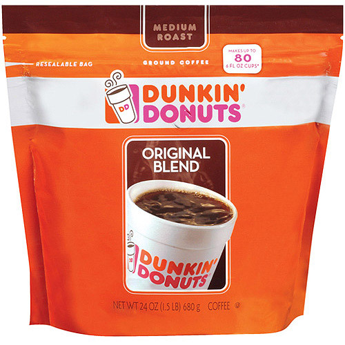 Dunkin' Donuts Original Blend Medium Roast Coffee, 24 oz