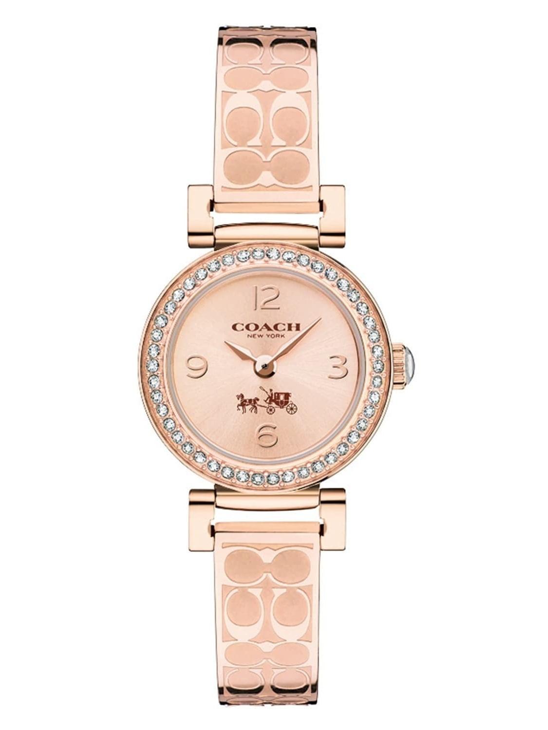 Women's Signature Madison Rose Gold Logo Bangle Watch 14502203