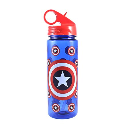 SILVER BUFFALO LLC Captain America Bottle ME0264