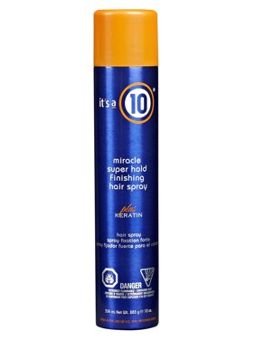 (25% Off Deal) It's a 10 Miracle Super Hold Finishing Hair Spray, 10 Oz