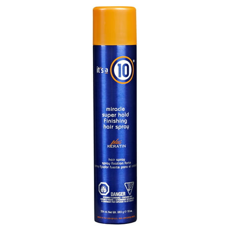 It's A 10 Super Hold Hairspray With Keratin, 10 Oz](Black Hairspray Com)