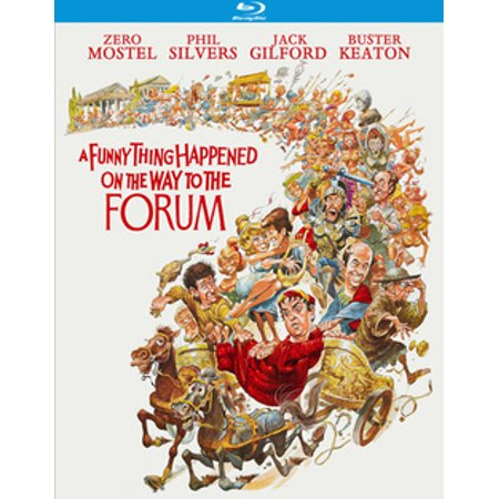 A Funny Thing Happened On The Way To The Forum (Blu-ray) - Funny Things To Say On Halloween