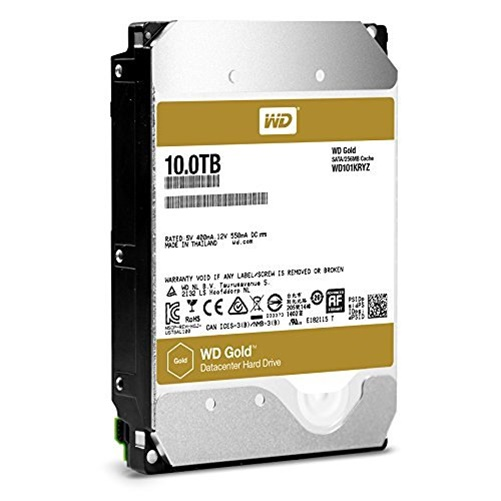 WD Gold Datacenter 10TB Internal Hard Drive by Western Digital