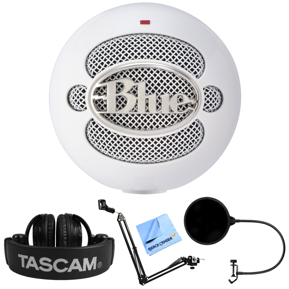 Blue Mics Snowball iCE Versatile USB Microphone - White (...