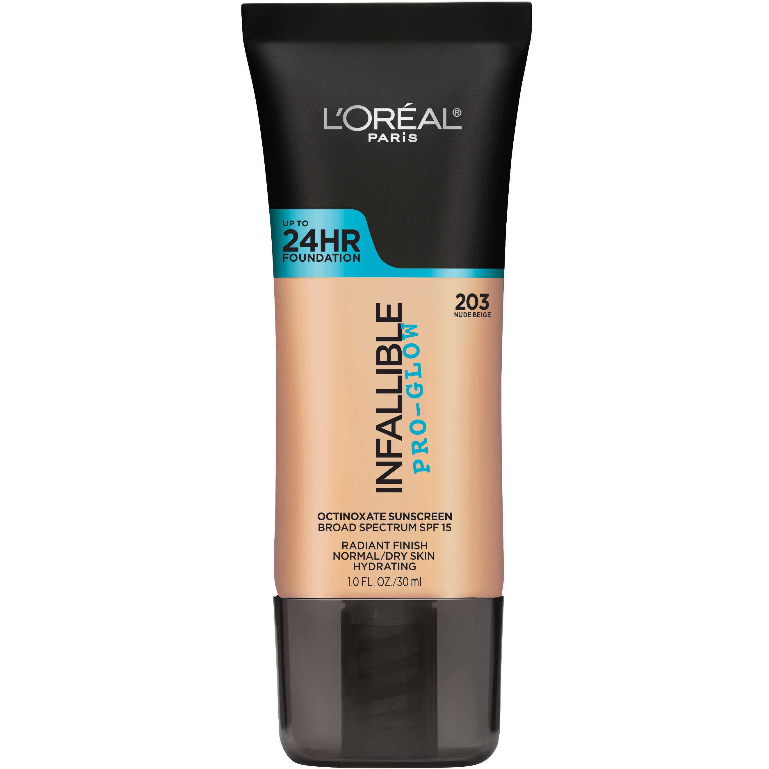 L'Oreal Paris Infallible Pro-Glow Foundation, Nude Beige