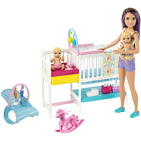 Barbie Skipper Babysitters Inc. Nap N Nurture Nursery Dolls Deals