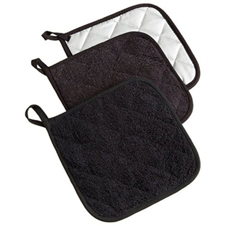 Hot Pad Set (DII Cotton Terry Pot Holders, 7x7