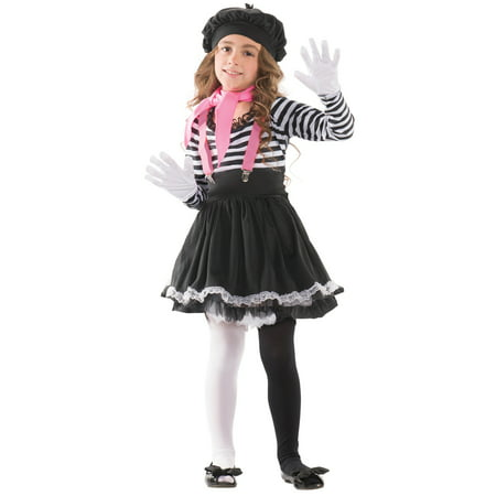 Child Mesmerizing Mime Costume](Mime Mask)
