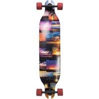 "Quest 41"" Sunset Mosaic Longboard Skateboard"