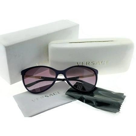 845c3a21509 VERSACE - Versace VE4260-50648H Cat Eye Women s Purple Frame Mauve Lens  Sunglasses NWT - Walmart.com