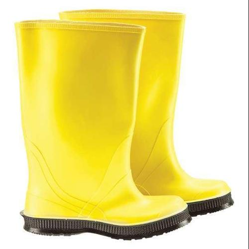 ONGUARD 88060 14 00 Overboots,14,PVC,Cleated,17inH,Yellow,PR