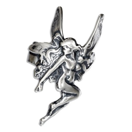 STERLING SILVER FAIRY EAR - Sterling Silver Ear Cuff
