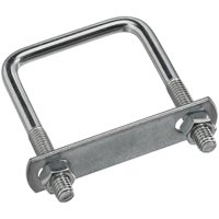 Stanley Hardware 222356 Bolt U Square 0.31 x 2 x 3 in. Zinc Plated