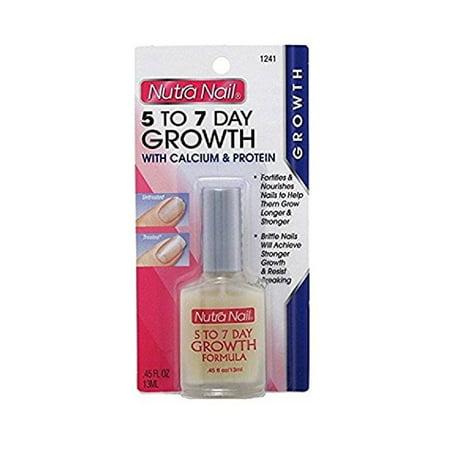 Nutra Nail Calcium Formula 5-to-7 Day Nail Growth, 0.45 fl