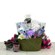 Healing Spa Pampering Bath and Body Gift Basket for Her -Mothers Day Gift Idea for Women