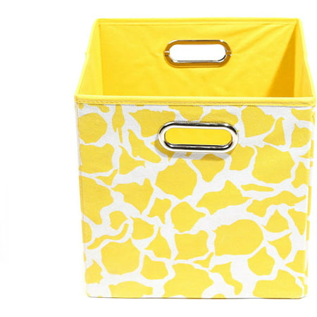 Modern Littles Rusty Folding Storage Bin  Giraffe