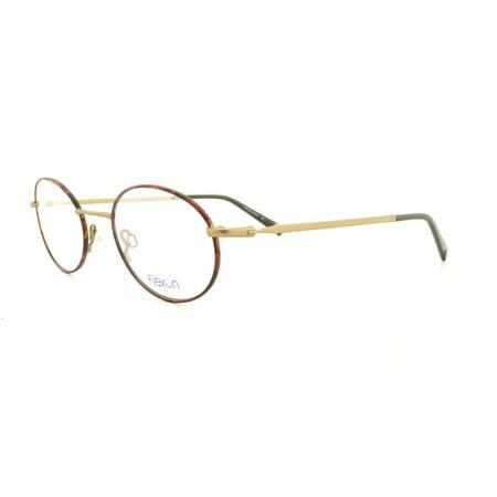 2798292b60b FLEXON Eyeglasses INFLUENCE 214 Matte Havana Gep 48MM - Walmart.com