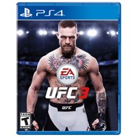 UFC 3, EA SPORTS, PlayStation 4, REFURBISHED/PREOWNED