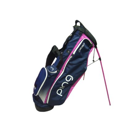 New Ping 4 Series Navy White Pink Golf Carry Stand Bag