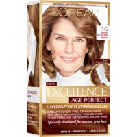 L'Oreal Paris Excellence Age Perfect 5G Medium Soft Golden Brown 1 Application