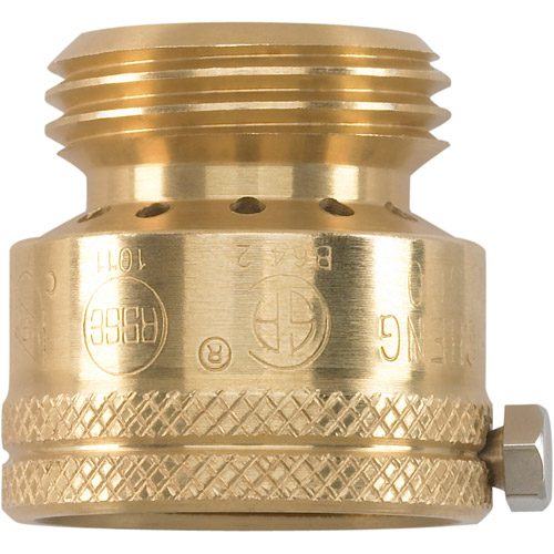 Powerfit 1 Garden Hose Inlet Back Flow Preventer Brass Walmartcom