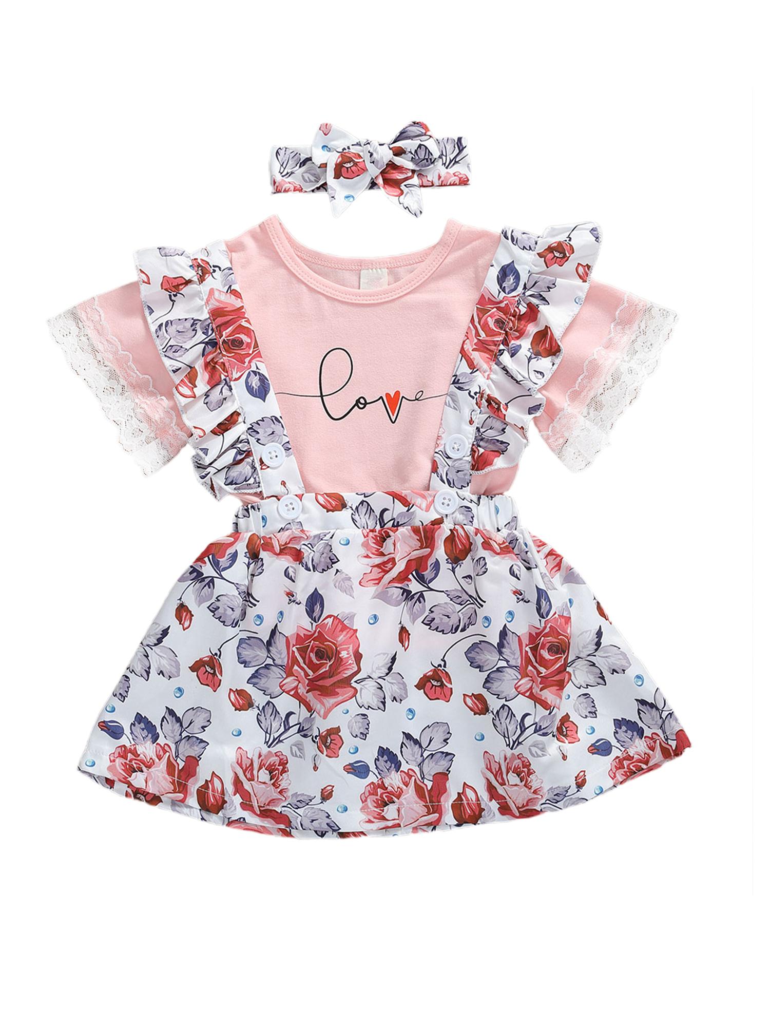 I Love Goats Baby Skirts Stylish Kids T Shirt Dress Comfortable Flounces Skort