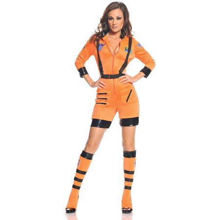 Galaxy Womens Adult Astronaut Space Explorer Halloween Costume - Women Space Costume