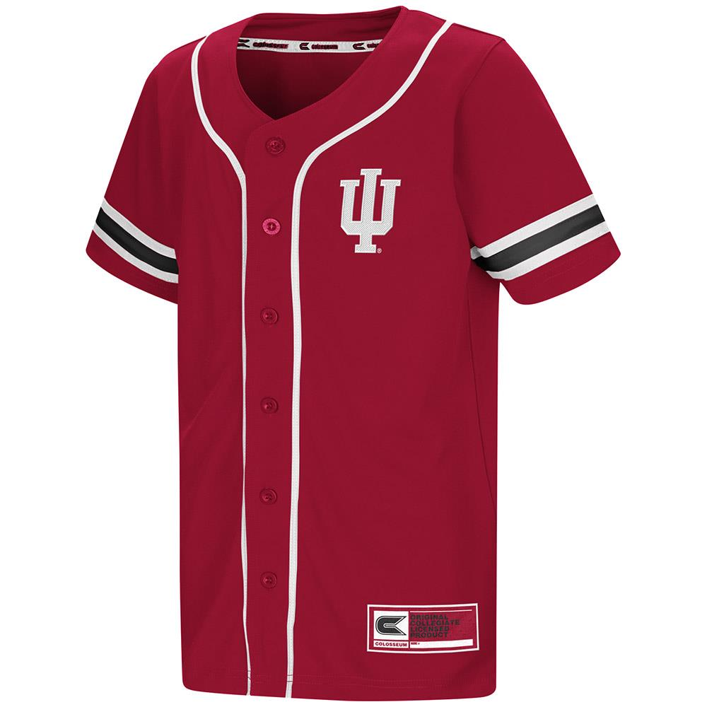 Youth Indiana Hoosiers Baseball Jersey - S