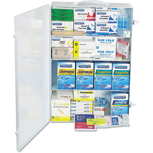 PhysiciansCare Industrial First Aid Kit for 150 People, 1218 pc