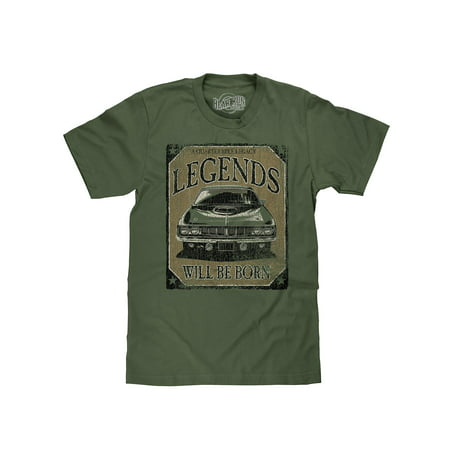 Bear Run Clothing Co. Legends Will Be Born 70s Muscle Car T-Shirt