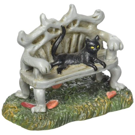Dept 56 Halloween Clearance (Halloween Village Black Cat Bench Accessory, 2.88 inch, Department 56 has been creating seasonal memories for families since 2128 By Department)
