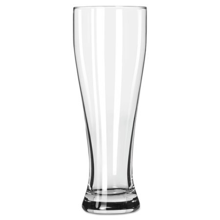 Libbey Giant Clear Beer Glasses, 23 oz, (Pack of 12)