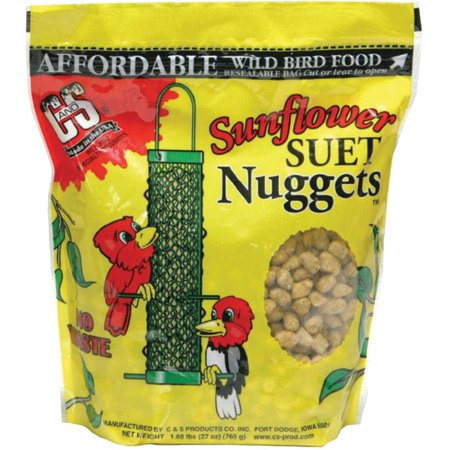 C&S Sunflower Suet Nuggets