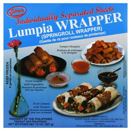 Simex Lumpia Wrappers