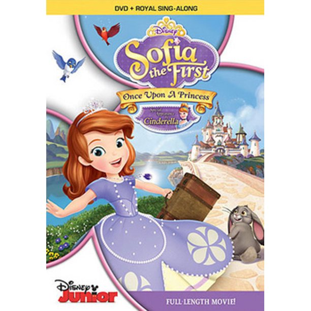 Sofia The First Once Upon A Princess Dvd Walmart Com Walmart Com