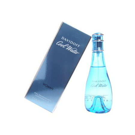 Cool Water by Davidoff 3.4 oz Deodorant Spray for (Best Water For Women)