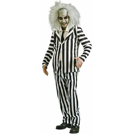 Beetlejuice Family Halloween Costume (Beetlejuice Men's Adult Halloween)