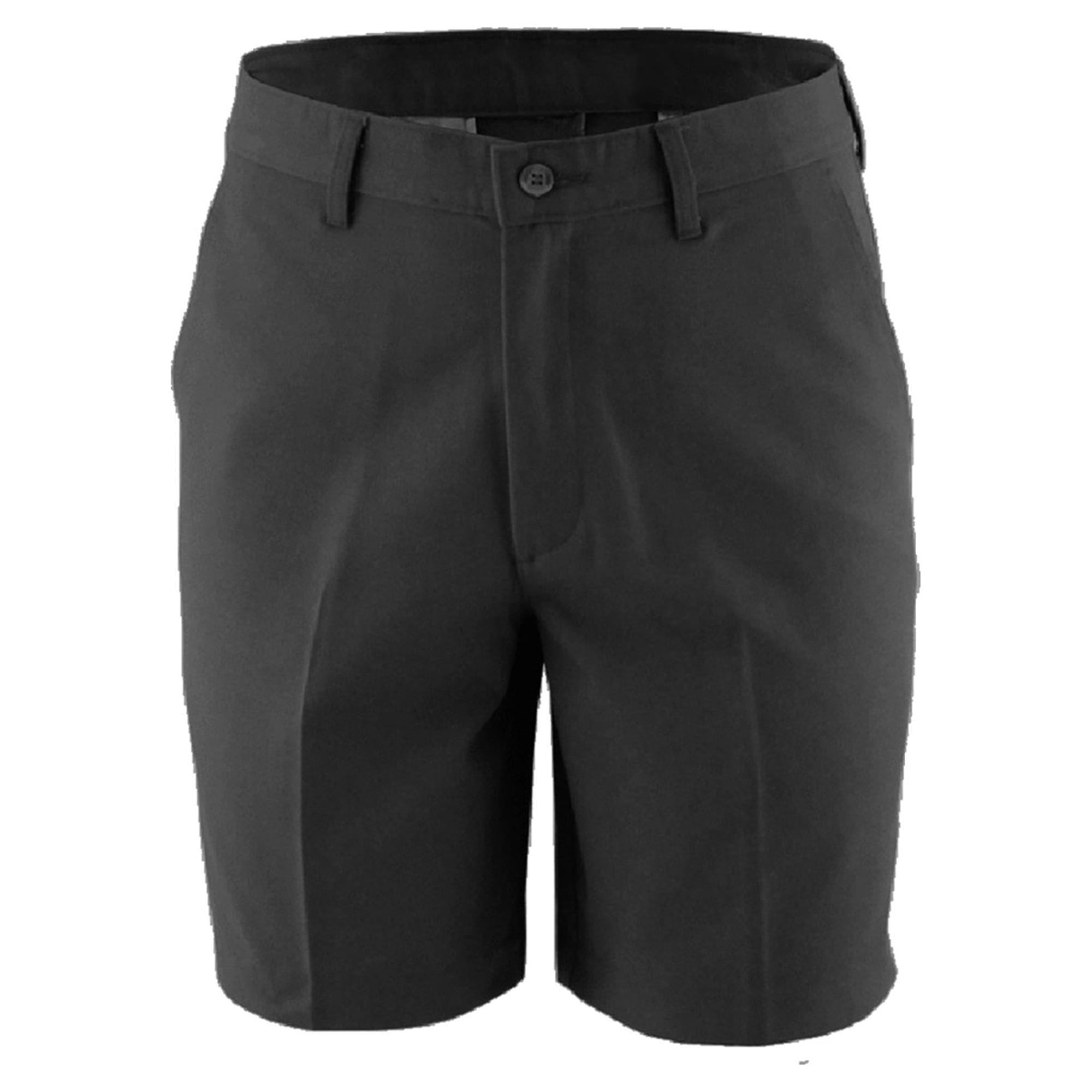 Edwards Garment Men's Flat Front Chino Short