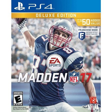 Madden Nfl 17   Deluxe Edition   Playstation 4