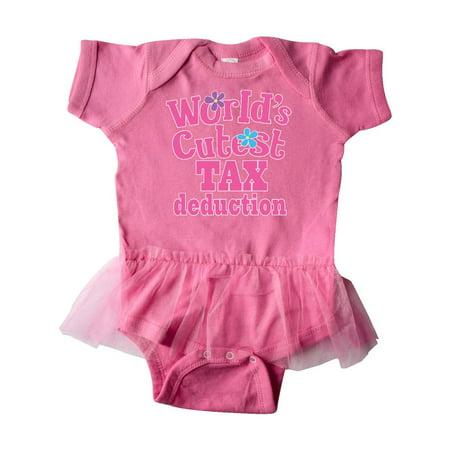 9b49fdfc2adb8 Tax Deduction Worlds Cutest Girls Infant Tutu Bodysuit