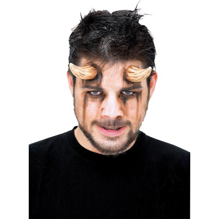 Brown Demon Horns Adult Halloween Accessory